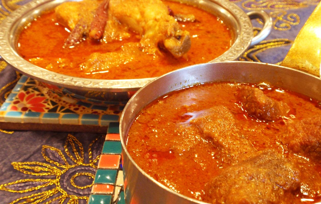 南インド チキンカレー